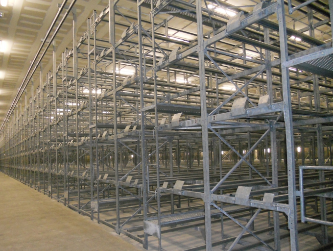 Racks de stockage chai rouby industrie   oreco