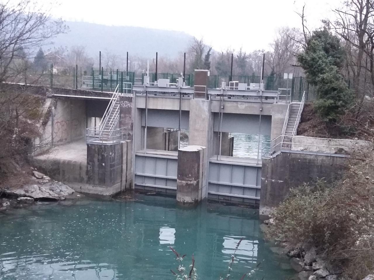 Rénovation d'un barrage hydroélectrique