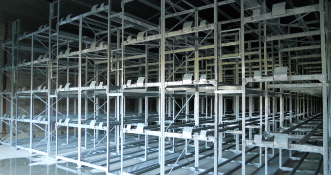 THORIN Batiment neuf racks en cours construction