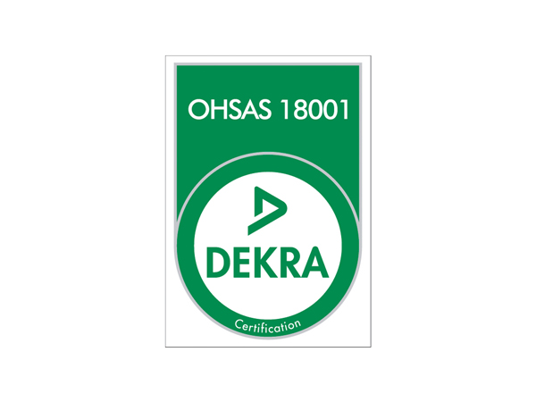 certification ohsas 18001 rouby industrie